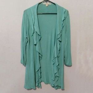 ⭐ BOGO fever waterfall front cardigan